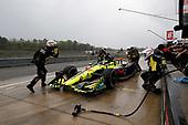 Sébastien Bourdais, Dale Coyne Racing with Vasser-Sullivan Honda, pit stop
