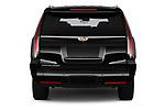 Straight rear view of 2020 Cadillac Escalade-ESV Premium-Luxury 5 Door SUV Rear View  stock images