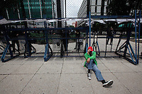 Protesta de la CNTE en embajada de Estados Unidos