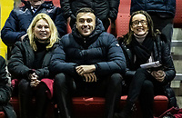 Bolton Wanderers' Bolton Wanderers' CEO Emma Beaugeard (left) and chairman Sharon Brittan (right)  <br /> <br /> Photographer Andrew Kearns/CameraSport<br /> <br /> The EFL Sky Bet League One - Lincoln City v Bolton Wanderers - Tuesday 14th January 2020  - LNER Stadium - Lincoln<br /> <br /> World Copyright © 2020 CameraSport. All rights reserved. 43 Linden Ave. Countesthorpe. Leicester. England. LE8 5PG - Tel: +44 (0) 116 277 4147 - admin@camerasport.com - www.camerasport.com