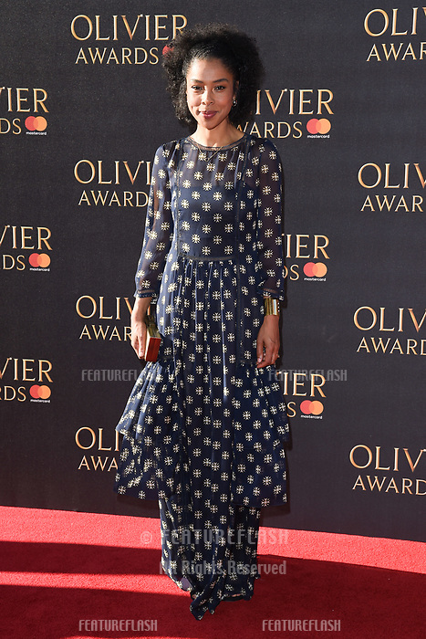 Sophie Okonedo at The Olivier Awards 2017 at the Royal Albert Hall, London, UK. <br /> 09 April  2017<br /> Picture: Steve Vas/Featureflash/SilverHub 0208 004 5359 sales@silverhubmedia.com