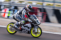 Danny Kent in pit line at pre season winter test IRTA Moto3 & Moto2 at Ricardo Tormo circuit in Valencia (Spain), 11-12-13 February 2014