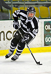 8 February 2009: University of New Hampshire Wildcats' defenseman Raylen Dziengelewski, a Sophomore from Southwick, MA, in action against the University of Vermont Catamounts in the second game of a weekend series at Gutterson Fieldhouse in Burlington, Vermont. The Wildcats defeated the lady Catamounts 6-2 to sweep the 2-game series. Mandatory Photo Credit: Ed Wolfstein Photo