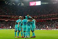 FC Barcelona's players celebrate goal during La Liga match. October 28,2017. (ALTERPHOTOS/Acero) /NortePhoto.com