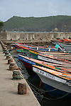 Fishing village of Dennery, St. Lucia