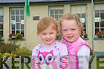 Orla Cremins and Michelle Cronin, were delighted to pose for the camera at Shrone National School on Monday. ...........