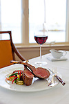 The Kahala Resort and Hotel, located in Honolulu on the souths side of Diamond Head, offers luxurious accommodations and is the only hotel in Oahu with a dolphin program. The salt crusted rack of lamb at Hoku's.
