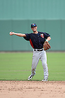 Minnesota Twins second baseman Pat Kelly (15) during an Instructional League game against the Boston Red Sox on September 26, 2014 at jetBlue Park at Fenway South in Fort Myers, Florida.  (Mike Janes/Four Seam Images)