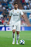 Real Madrid Marco Asensio during Santiago Bernabeu Trophy match at Santiago Bernabeu Stadium in Madrid, Spain. August 11, 2018. (ALTERPHOTOS/Borja B.Hojas)