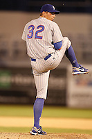 July 10, 2009:  Pitcher Luke Sommer of the Daytona Cubs during a game at George M. Steinbrenner Field in Tampa, FL.  Daytona is the Florida State League High-A affiliate of the Chicago Cubs.  Photo By Mike Janes/Four Seam Images