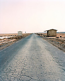 ERITREA, Assab, the road leading South of Assab into Djibouti