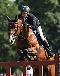 02.06.2019,  GER;  Deutsches Spring- und Dressur-Derby, 90. Deutsches Spring-Derby, im Bild Andre Thieme (GER) auf Contadur Foto © nordphoto / Witke