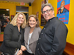 MIAMI, FL - MARCH 04: Laurie Weiss Nuell, Lisa Cole and Ron Greenspan attend the after party to the Miami Film Festival screening for 'Serenade for Haiti' at Tap Tap Restaurant on March 4, 2017 in Miami, Florida. ( Photo by Johnny Louis / jlnphotography.com )