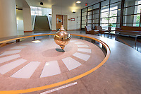 Interior lobby of the Hameetman Science Center, Jan. 18, 2011.<br />