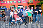 Christy's Bar BBQ : The prize winners in Christy's Bar €1000.00 World Cup Give Away pictured at the BBq on Sunday evening last.