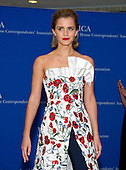 Actress Emma Watson arrives for the 2016 White House Correspondents Association Annual Dinner at the Washington Hilton Hotel on Saturday, April 30, 2016.<br /> Credit: Ron Sachs / CNP<br /> (RESTRICTION: NO New York or New Jersey Newspapers or newspapers within a 75 mile radius of New York City)