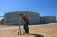 UNGARN Biogasanlage der Fa. Eisele in Nyirbator, Betreiber landwirtschaftlicher Betrieb und Schlachthof Batorcoop / HUNGARY biogas plant in Nyirbator