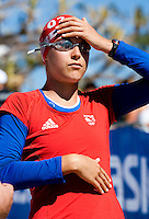 11 SEP 2009 - SOUTHPORT, AUS - Hollie Avil (GBR) - ITU U23 Womens World Triathlon Championships .(PHOTO (C) NIGEL FARROW)