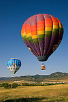 Hot air balloons, Denver, Colorado, USA