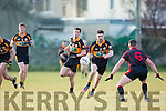 Stacks Pa McCarthy in action at the Co League Div I Austin Stacks v Kenmare at Connolly Park on Saturday