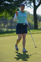 Morgan Pressel (USA) sinks her putt on 2 during round 1 of the 2018 KPMG Women's PGA Championship, Kemper Lakes Golf Club, at Kildeer, Illinois, USA. 6/28/2018.<br /> Picture: Golffile | Ken Murray<br /> <br /> All photo usage must carry mandatory copyright credit (&copy; Golffile | Ken Murray)