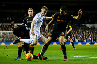 Leeds United's Jack Clarke battles with Hull City's Kevin Stewart<br /> <br /> Photographer Alex Dodd/CameraSport<br /> <br /> The EFL Sky Bet Championship - Leeds United v Hull City - Saturday 29th December 2018 - Elland Road - Leeds<br /> <br /> World Copyright © 2018 CameraSport. All rights reserved. 43 Linden Ave. Countesthorpe. Leicester. England. LE8 5PG - Tel: +44 (0) 116 277 4147 - admin@camerasport.com - www.camerasport.com