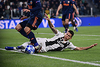Joao Cancelo (Juventus F.C.) in action during the Uefa Champions League 2018/2019 Group H football match between Juventus and Valencia at Juventus stadium, Torino, November 27, 2018 <br />  Foto Federico Tardito/ OnePlusNine / Insidefoto