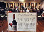 View of the wine auction segment of the Greystone Programs' 27th Annual International Wine Showcase & Auction, held at The Grandview, in Poughkeepsie, NY, on Sunday, October 2, 2016. Photo by Jim Peppler; Copyright Jim Peppler 2016.