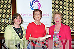 Kerry Volunteer Centre Awards Presentation : Members of the Kerry Parents & Friends, Listowel branch  who were presented with their certificate at a civic reception held at the Listowel Arms Hotel on Friday evening last. L-R : Kate Murphy, Berlie Daly & Mary Whelan.