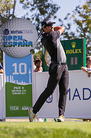 Alfredo GARCIA-HEREDIA (ESP) on the 10th tee during the third round of the Mutuactivos Open de Espana, Club de Campo Villa de Madrid, Madrid, Madrid, Spain. 05/10/2019.<br /> Picture Hugo Alcalde / Golffile.ie<br /> <br /> All photo usage must carry mandatory copyright credit (© Golffile | Hugo Alcalde)
