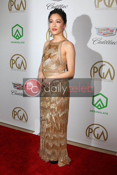 Constance Wu<br /> at the 2019 Producer's Guild Awards, Beverly Hilton Hotel, Beverly Hills, CA 01-19-19<br /> David Edwards/DailyCeleb.com 818-249-4998