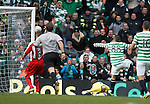 Gary Hooper misses his target in front of goal