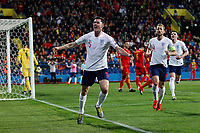 Michael Keane of England celebrates after scoring his side's first goal to equalise and make the score 1-1  <br /> Podgorica 25-3-2019 <br /> Football Euro2020 Qualification Montenegro - England <br /> Foto Daniel Chesterton / PHC / Insidefoto <br /> ITALY ONLY