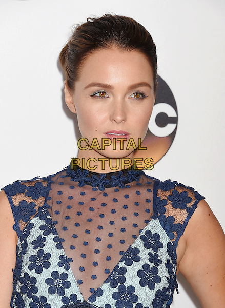 BEVERLY HILLS, CA - AUGUST 04: Actress Camilla Luddington arrives at the Disney ABC Television Group TCA Summer Press Tour at the Beverly Hilton Hotel on August 4, 2016 in Beverly Hills, California.<br /> CAP/ROT/TM<br /> &copy;TM/ROT/Capital Pictures