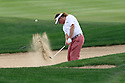 Miguel Angel Jimenez (ESP) in action during the final round of the Abu Dhabi HSBC Golf Championship played at Abu Dhabi Golf Club, UAE 15-18 January 2015.(Picture Credit / Phil Inglis)