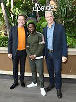 "30 October 2018 - Beverly Hills, California - Bryan Cranston, Kevin Hart, Neil Burger. ""The Upside"" Photo Call held at The Four Seasons at Beverly Hills . Photo Credit: Birdie Thompson/AdMedia"