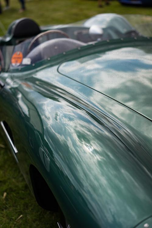 Close up of Aston Martin