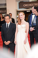 "Ben Stiller and Jessica Chastain attending the ""Madagascar III"" Premiere during the 65th annual International Cannes Film Festival in Cannes, France, 18.05.2012..Credit: Timm/face to face/MediaPunch Inc. ***FOR USA ONLY***"