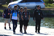 June 10th 2017, Circuit Gilles Villeneuve, Montreal Quebec, Canada; Formula One Grand Prix, in the padock; Fernando Alonso - McLaren Honda