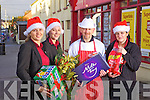 Supervalu management and staff Ramune Ziliene, Michelle Brosnahan, Mike Foley and Jane Wrenn pictured last Friday in Abbeyfeale.