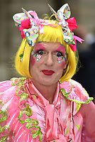 Grayson Perry<br /> at the Royal Academy of Arts Summer exhibition preview at Royal Academy of Arts on June 04, 2019 in London, England.<br /> CAP/PL<br /> ©Phil Loftus/Capital Pictures