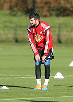 Pictured: Jordi Amat Wednesday 05 November 2014<br />