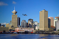 Vancouver, BC, Canada, August 2006. Downtown Vancouver and the Waterfront. Squeezed in between the Rocky Mountains and the Pacific Ocean, Vancouver has a special feel. Photo by Frits Meyst/Adventure4ever.com
