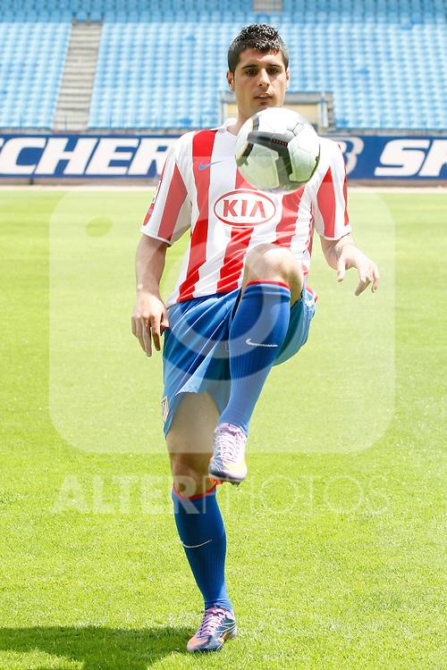 Atletico de Madrid's new player Fran Merida during his presentation.May,28,2010..(ALTERPHOTOS/Acero)