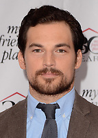 HOLLYWOOD, CA - APRIL 7:   Giacomo Gianniotti at the My Friend's Place 30th Anniversary Gala at the Hollywood Palladium on April 7, 2018 in Hollywood, California. (Photo by Scott KirklandPictureGroup)