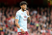 Tyrone Mings of Aston Villa during the Premier League match between Arsenal and Aston Villa at the Emirates Stadium, London, England on 22 September 2019. Photo by Carlton Myrie / PRiME Media Images.