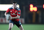 Inside centre Denis Hurley of Munster Rugby carries the ball forward.<br /> <br /> Guiness Pro 12<br /> Newport Gwent Dragons v Munster Rugby<br /> Rodney Parade<br /> 21.11.14<br /> ©Steve Pope-SPORTINGWALES