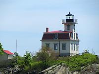 Pomham Rocks Lighthouse