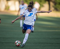 Seattle, WA - Saturday July 15, 2017: Morgan Andrews during a regular season National Women's Soccer League (NWSL) match between the Seattle Reign FC and the Boston Breakers at Memorial Stadium.
