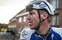 Tim Declercq (BEL/Quick-Step Floors) post-race<br /> <br /> 1st Dwars door West-Vlaanderen 2017 (1.1)